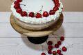 Torta Disaronno e amarene sciroppate