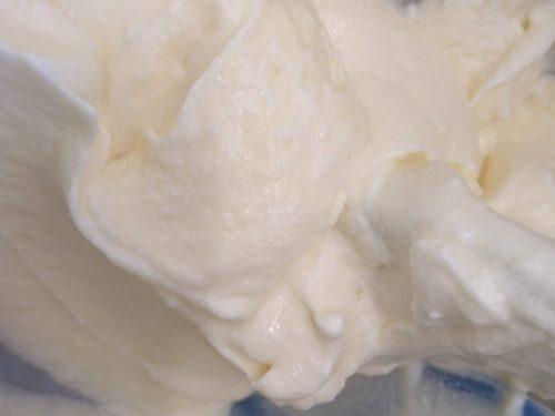 Crema al mascarpone con uova intere