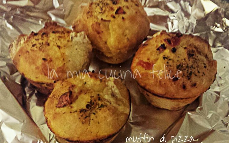Muffin di pizza