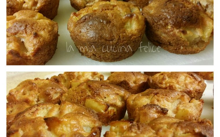 Muffin di mele e miele
