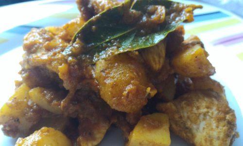 Curry di pollo di Martha Steward