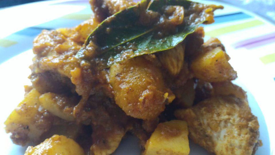 curry di pollo