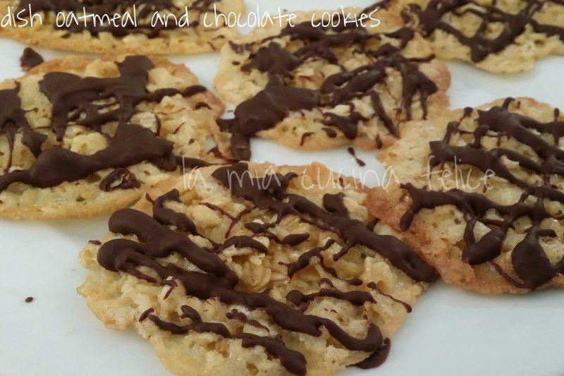 Svedish oatmeal and chocolate cookies