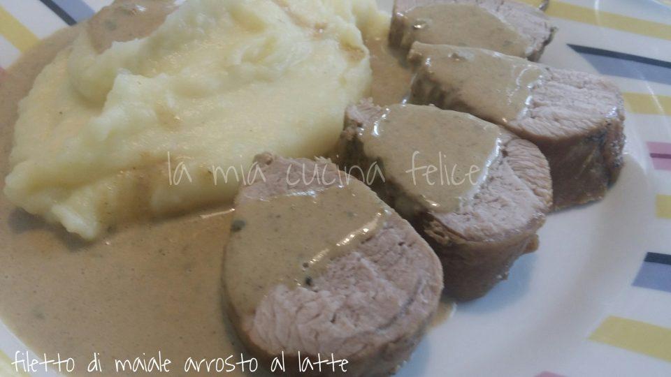 Filetto di maiale arrosto al latte