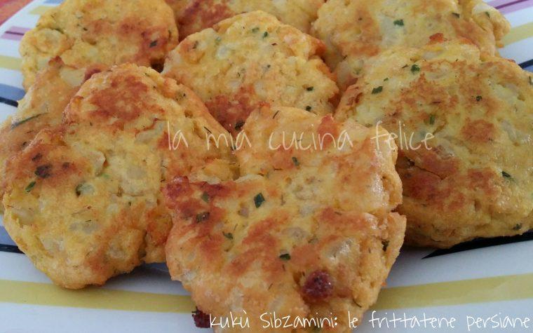Kukù Sibzamini: le frittatine persiane