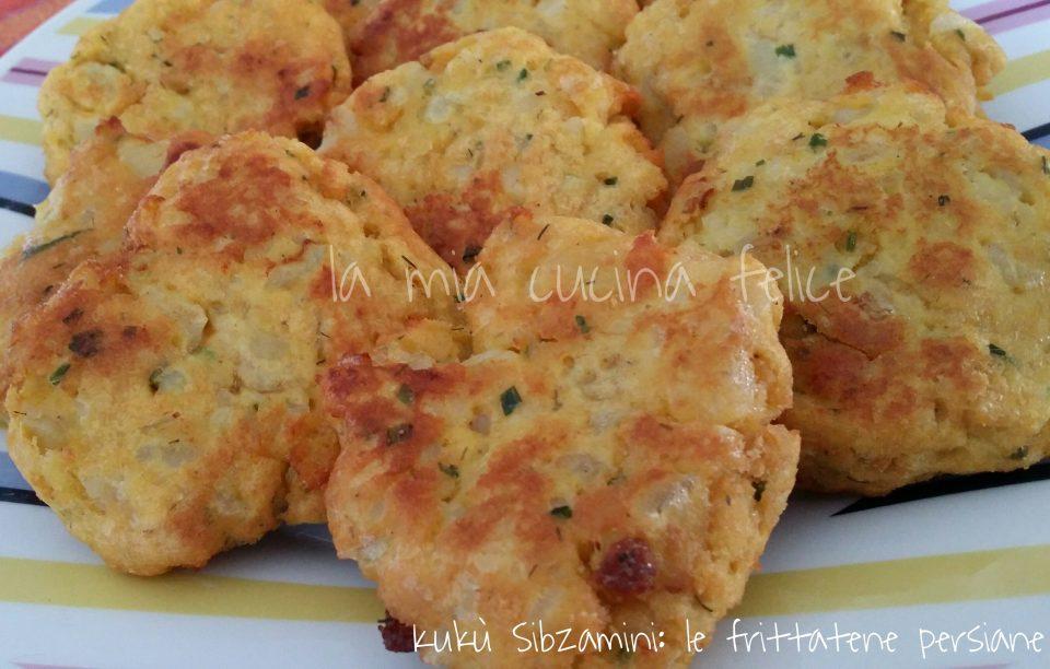 Kukù Sibzamini: frittatine persiane