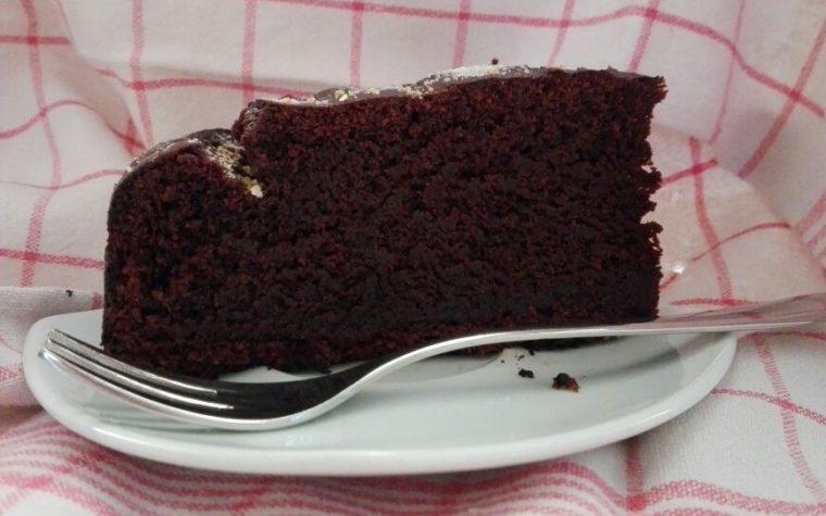 Torta barbabietola e cioccolata