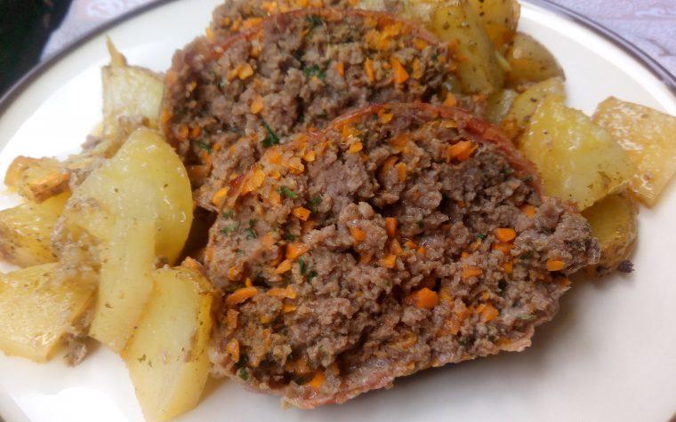 Polpettone di manzo e carote