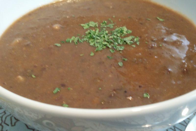 Crema di lenticchie speziata
