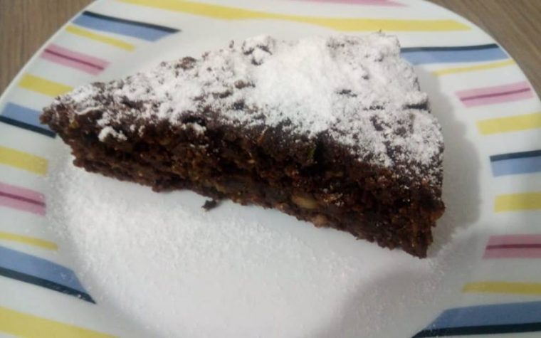 torta cacao e zucchine vegan