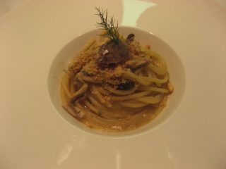 spaghetti con finocchio