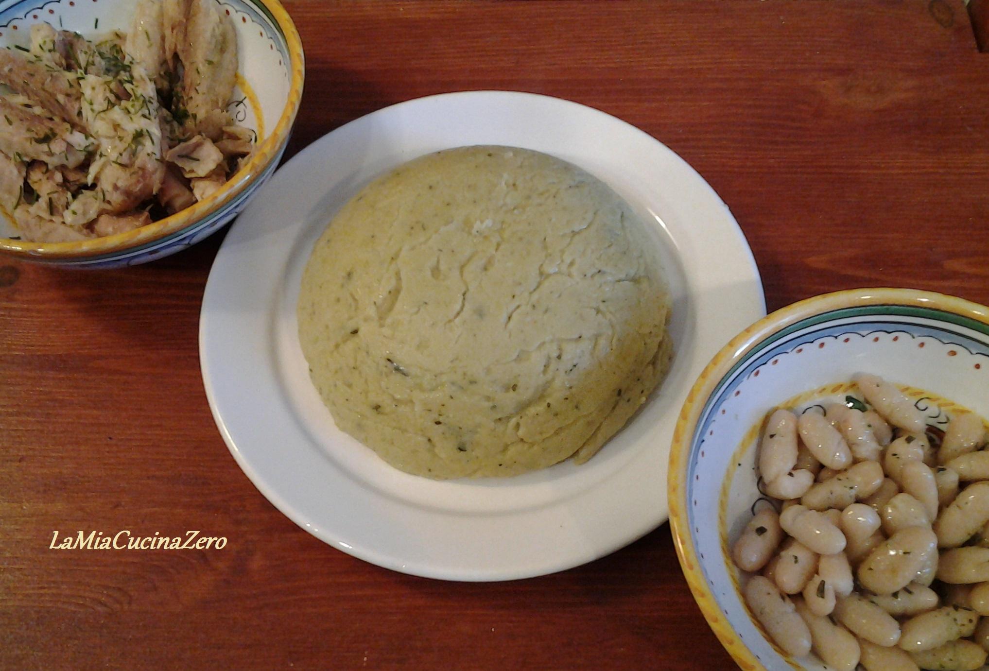 Polenta di Quinoa Cipolle e Verza - Tutti i gruppi