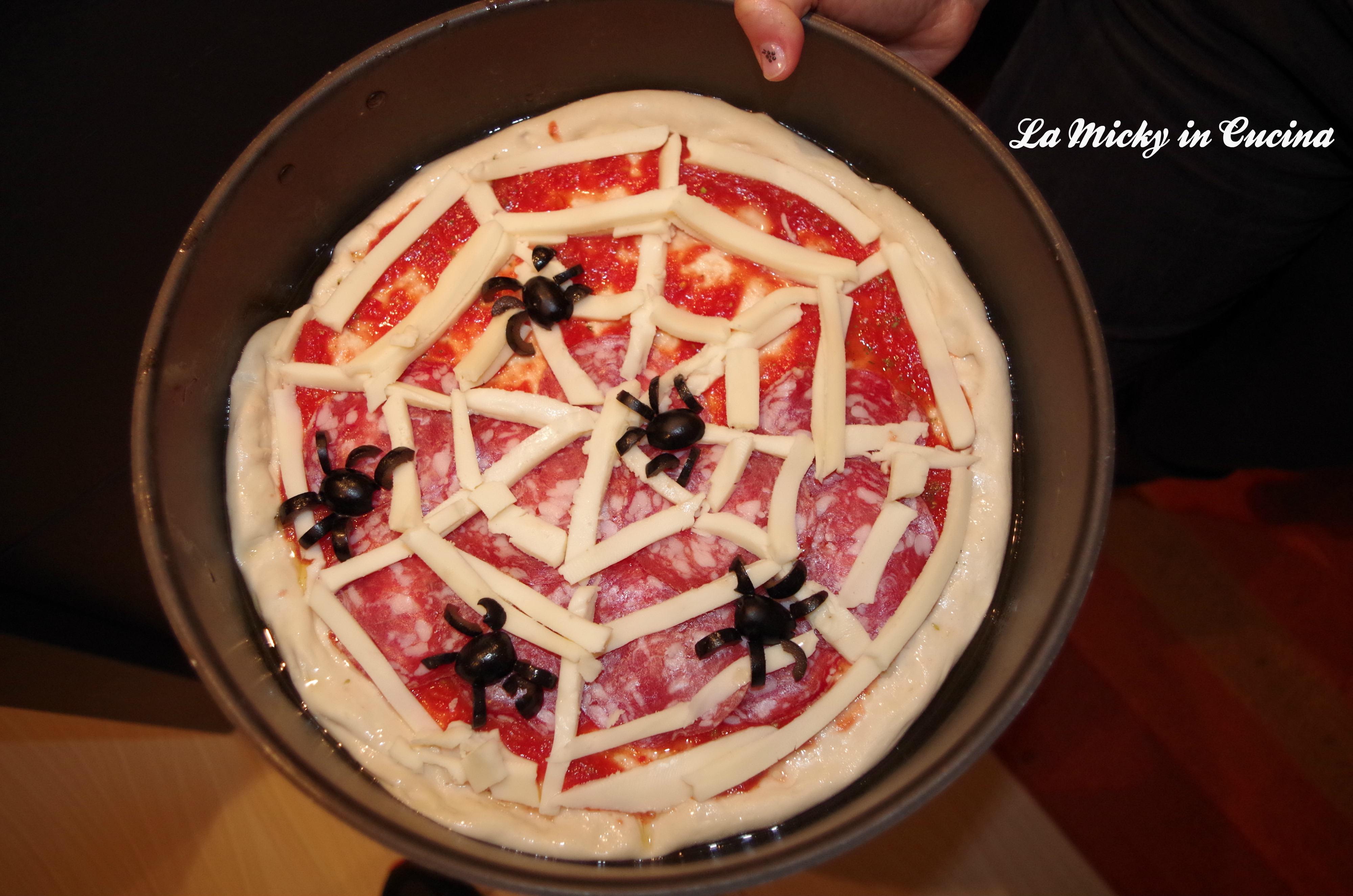 Pizza di Halloween - La Micky in Cucina