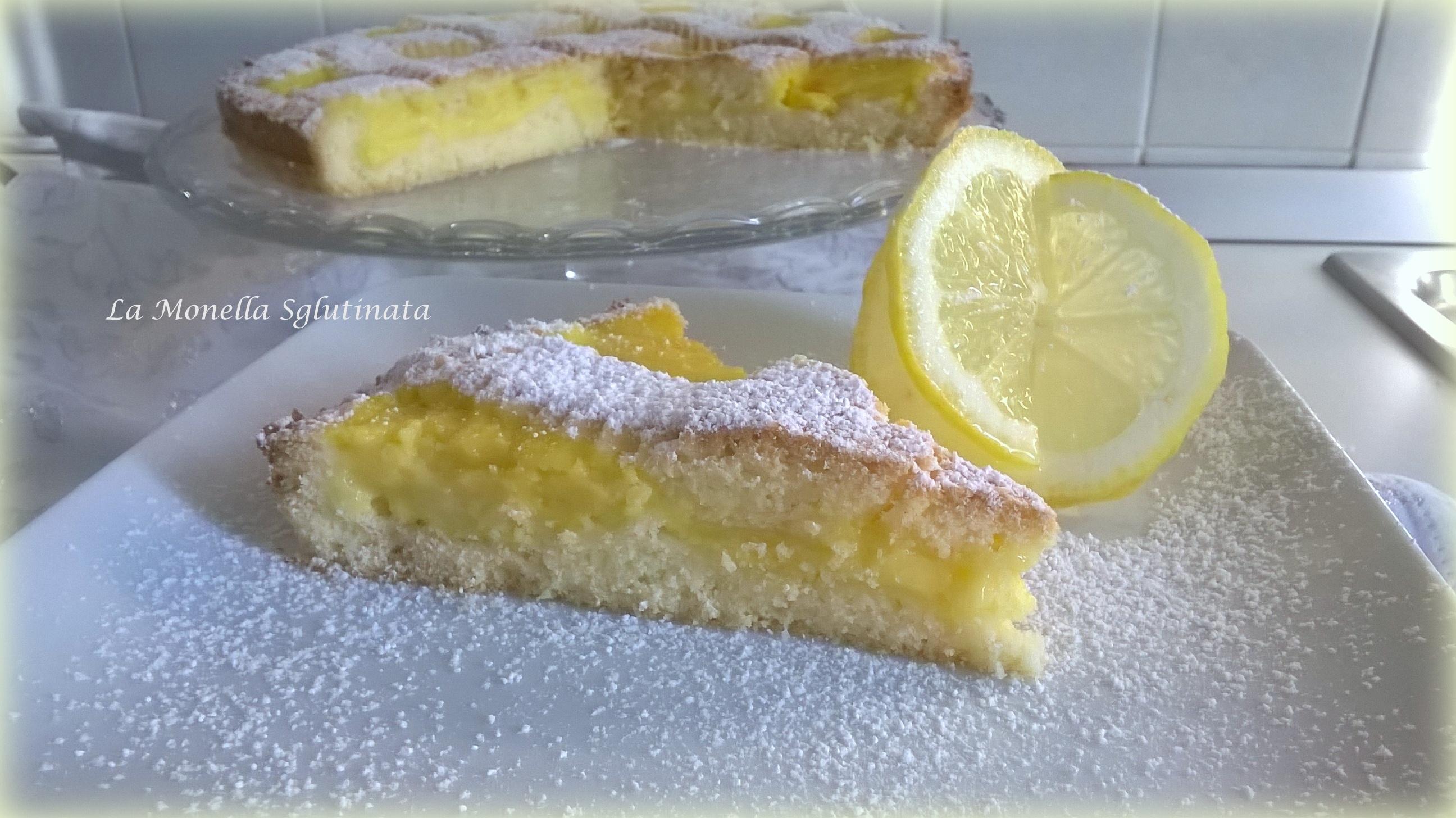 crostata di crema di limone senza glutine