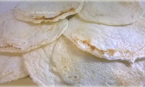 Testaroli con farina di riso senza glutine