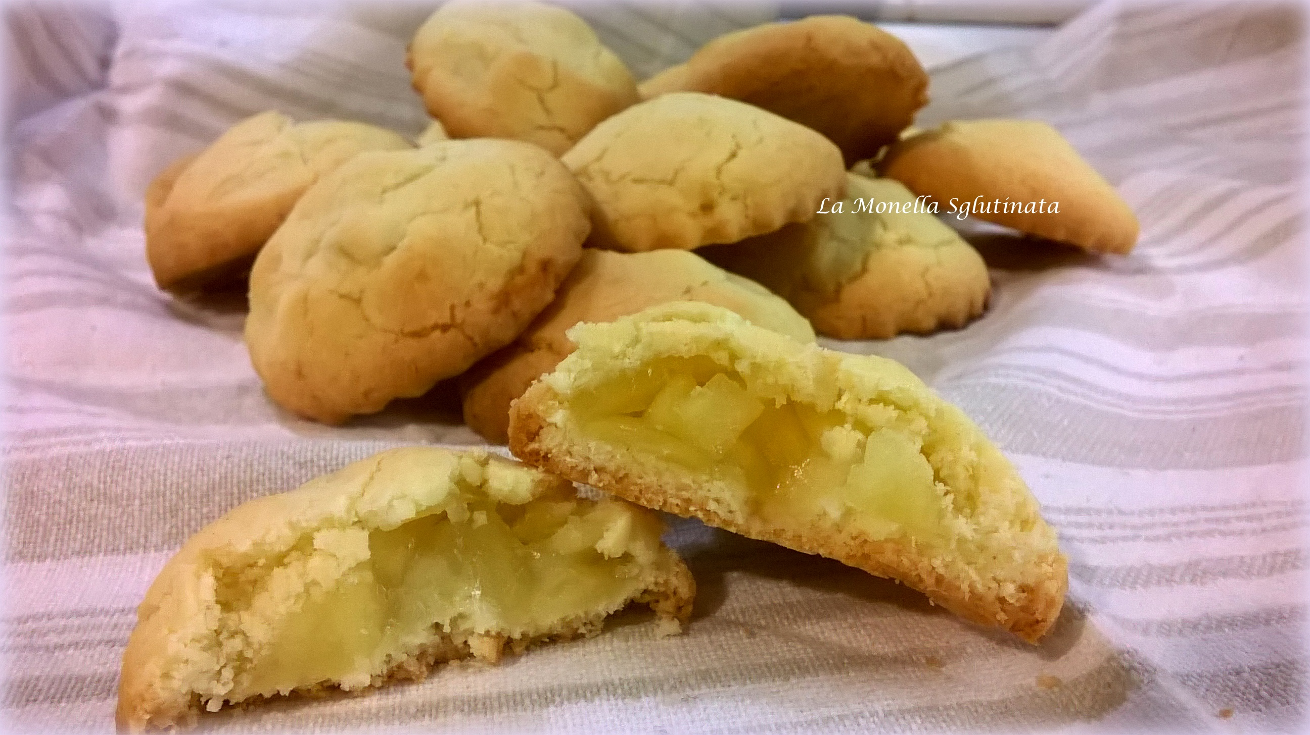 Biscotti Cuor di mela senza glutine
