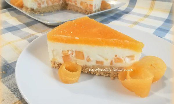 Cheesecake al melone senza glutine