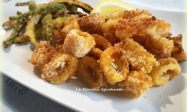 Calamari al forno con zucchine alla paprika