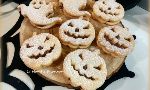 Occhi di bue di halloween senza glutine