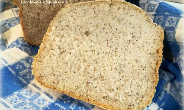 Pane integrale e semi di papavero con mdp