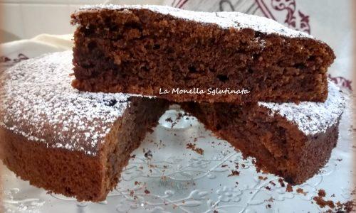 Torta morbida ricotta e cioccolato senza glutine