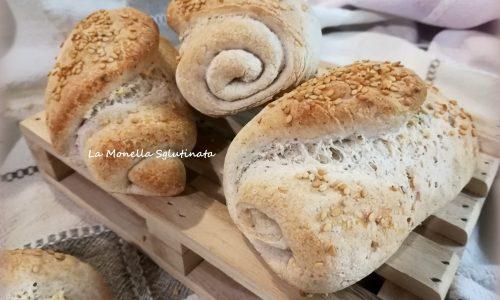 Panini con mix di farina integrale