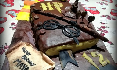 Torta harry potter della monella