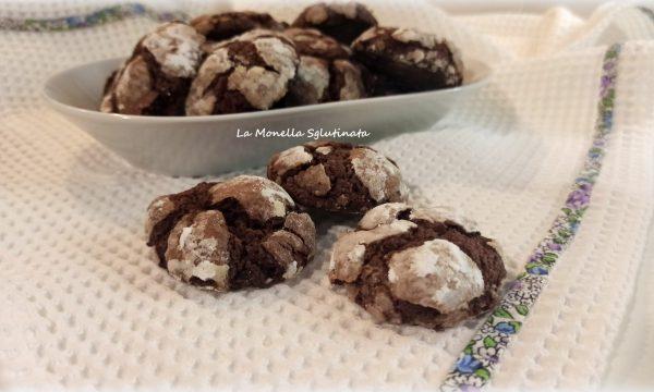 Biscotti morbidi  al cioccolato senza glutine