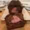 Plumcake al cacao con cuore senza glutine