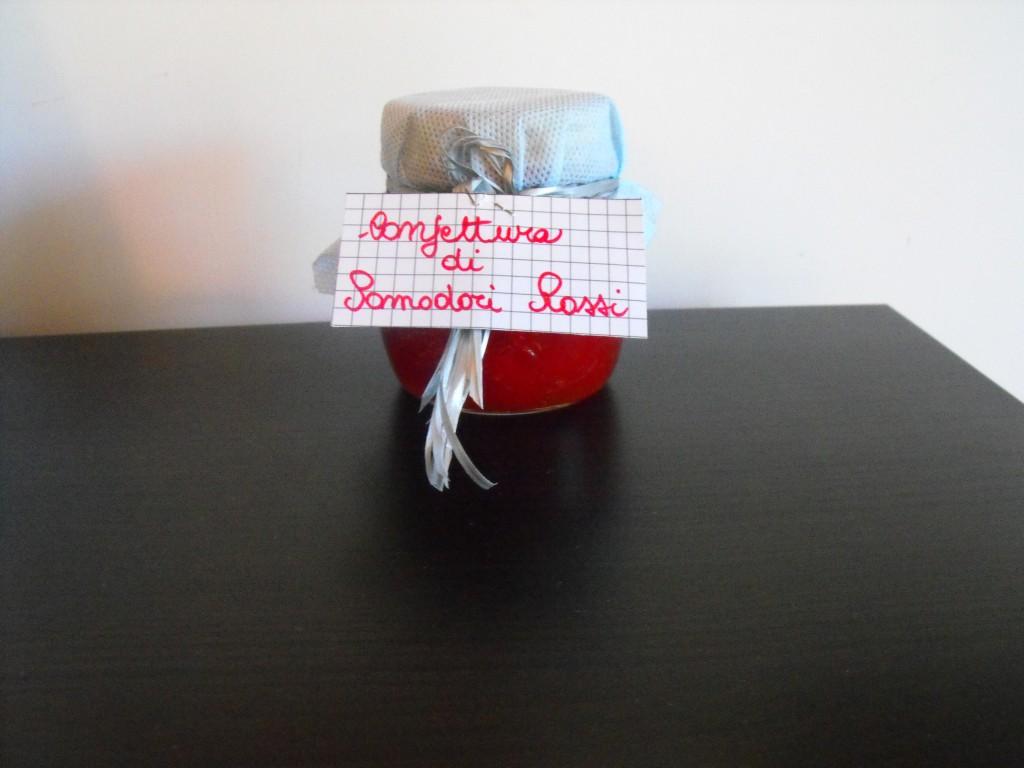 Confettura di pomodori rossi2