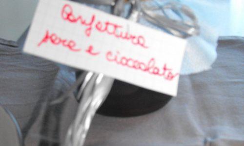 Confettura pere e cioccolato