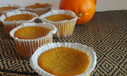 Tortine mandorle e arancia