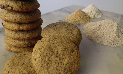 Biscotti al grano saraceno e crusca d'avena