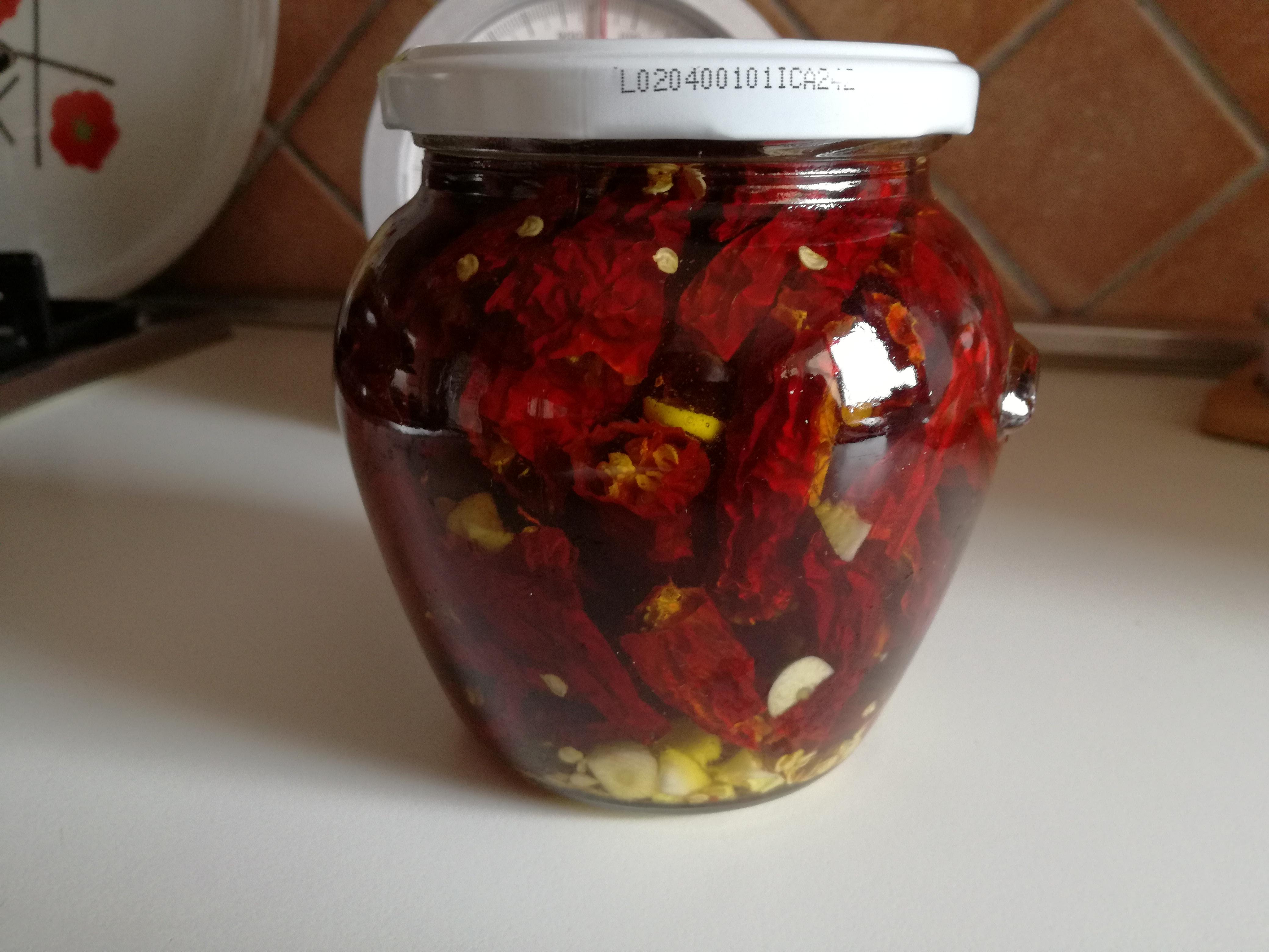 Conservare il peperoncino piccante
