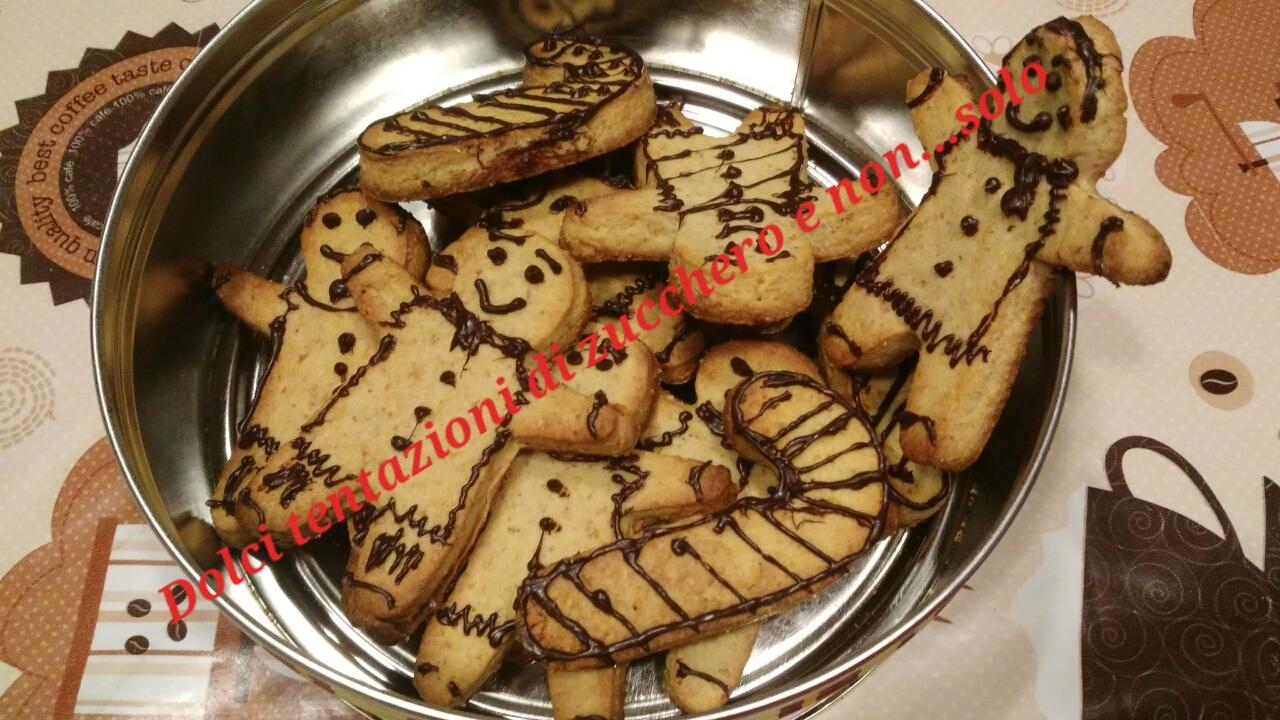 Biscotti pan di zenzero in chiave biochimica