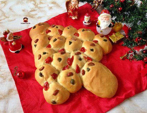 Albero di danubio salato ricetta natalizia