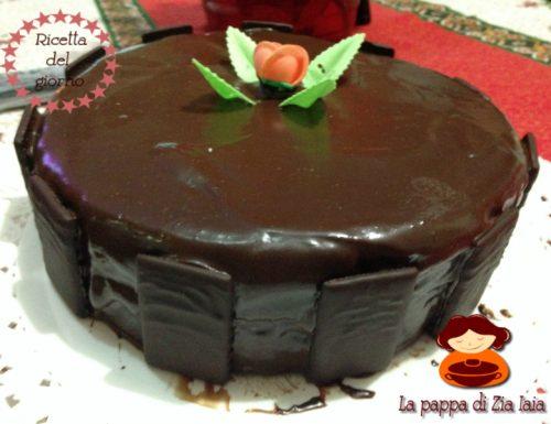 Torta menta e cioccolato di Guido Castagna