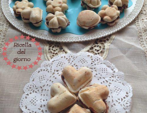 Cialde di pane alla nutella