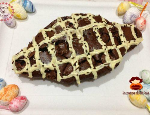 Colomba veloce al cacao e Nutella