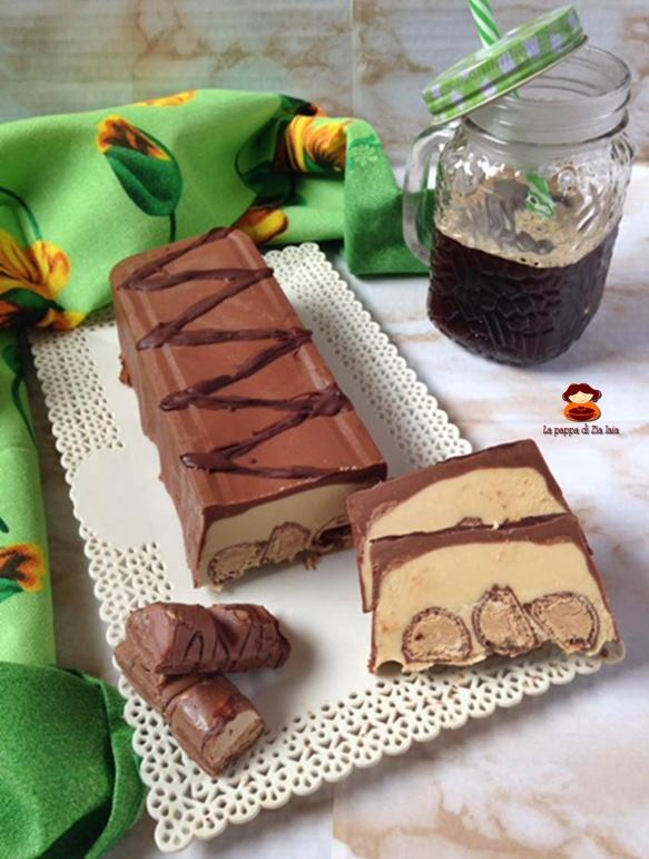 Torrone al cioccolato e kinder bueno
