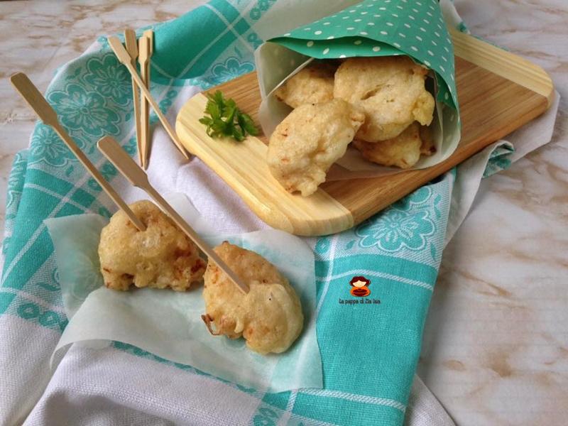 Frittelle di cavolfiore ricetta di mamma