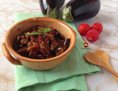 Melanzane a funghetto ricetta napoletana