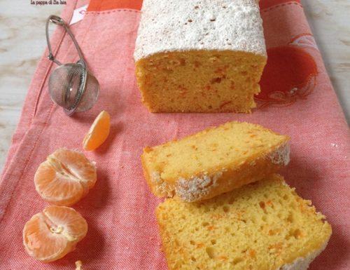 Plumcake mandarini e carote