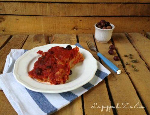 Baccalà in cassuola alla napoletana
