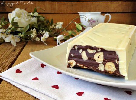 Torrone di cioccolato alle nocciole