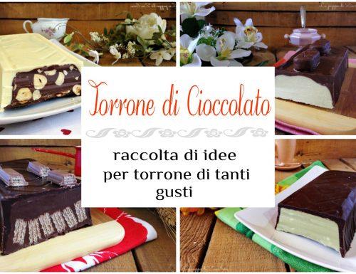 Raccolta ricette per il Torrone al cioccolato