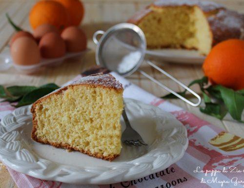 Torta arancia e cocco semplice
