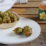 Madeleine salate agli spinaci