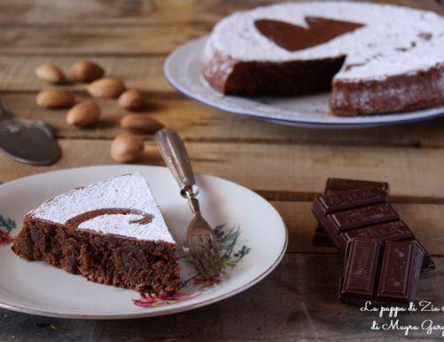 Torta Caprese al cioccolato