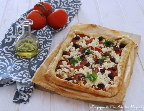 Sfoglia salata alla greca ricetta sfiziosa